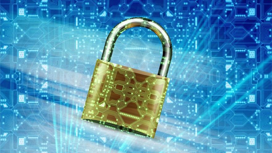 protección de datos candado