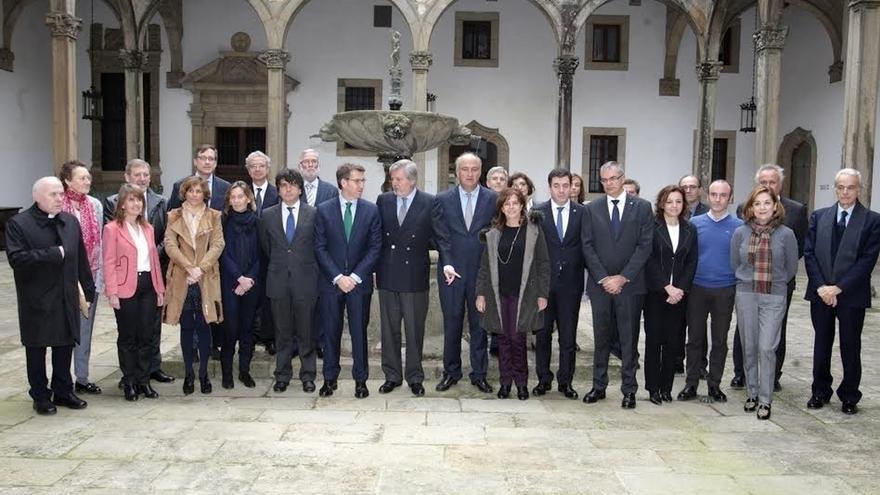 Navarra analiza en Santiago nuevas acciones de impulso en la ruta jacobea tras ser declarada Patrimonio Mundial