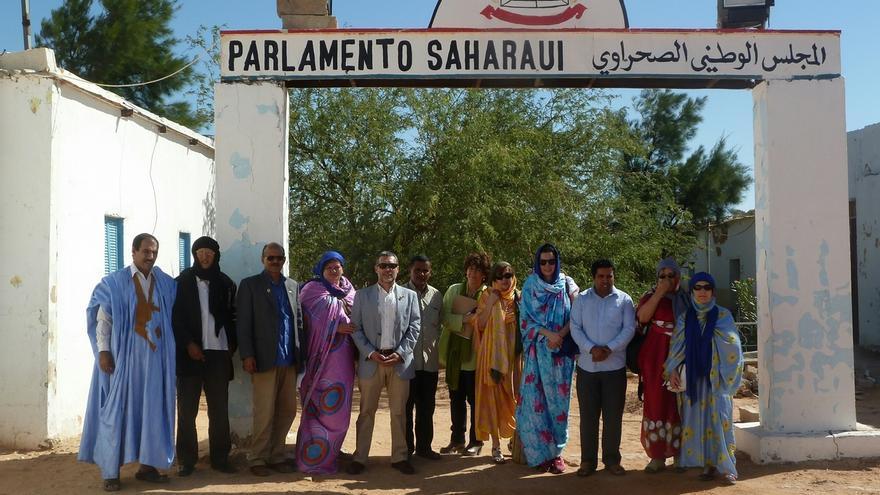 Inaugurados en los campamentos saharuis de Argelia dos centros sanitarios reconstruidos con ayuda navarra