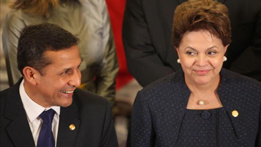 Perú espera estrechar la integración con Brasil con la visita de Rousseff