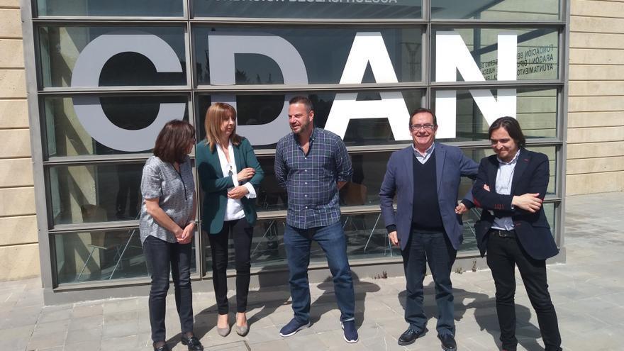 Gobierno de Aragón, Diputación y Ayuntamiento de Huesca se comprometen a trabajar por el futuro del CDAN