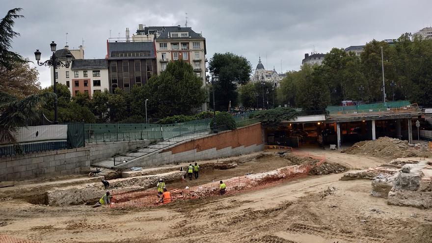 Obras de reforma de Plaza España (Madrid)