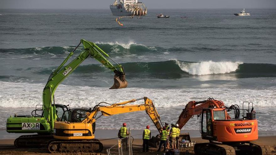 Completado el cable submarino de fibra óptica que une a España y Estados Unidos