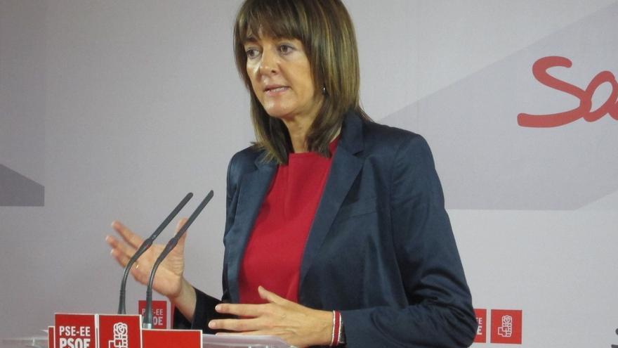 """Mendia (PSE) pregunta a Podemos si el """"camino que quiere tomar"""" en Euskadi es el de la independencia"""