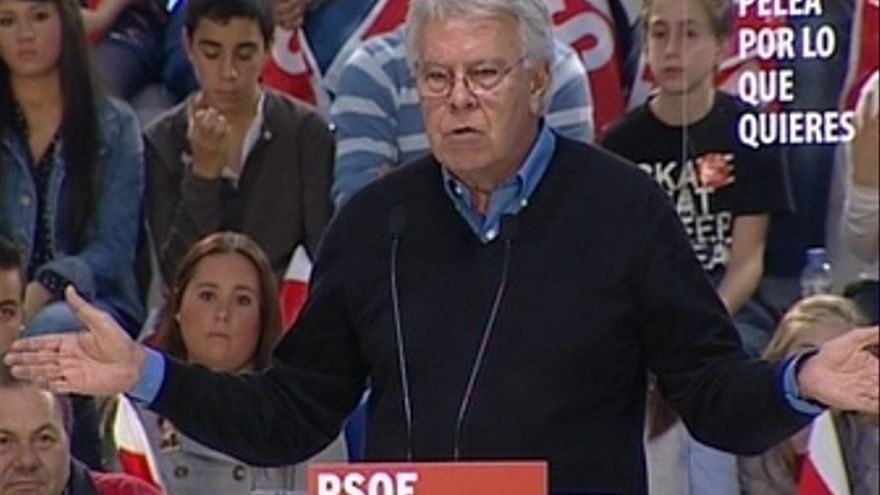 "Felipe González: ""No nos merecemos a Rajoy"""