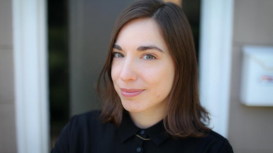 La dibujante Sarah Glidden.   Alex Stonehill