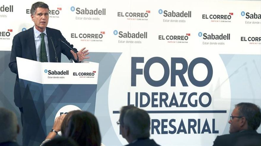 "Guardiola (Sabadell) ve posible que empresas preparen plan ""de contingencia"""