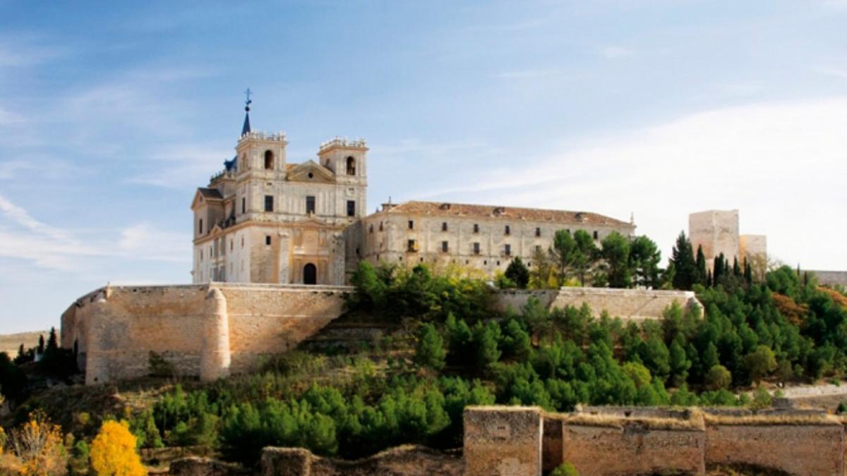 Monasterio de Uclés. Foto: Ayuntamiento de Uclés