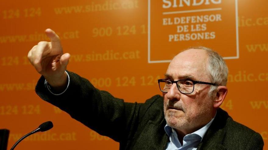 El Síndic de Greuges niega la sedición: Se ejercieron derechos fundamentales