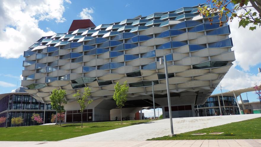 Pabellón de Aragón en la Expo de Zaragoza de 2008.