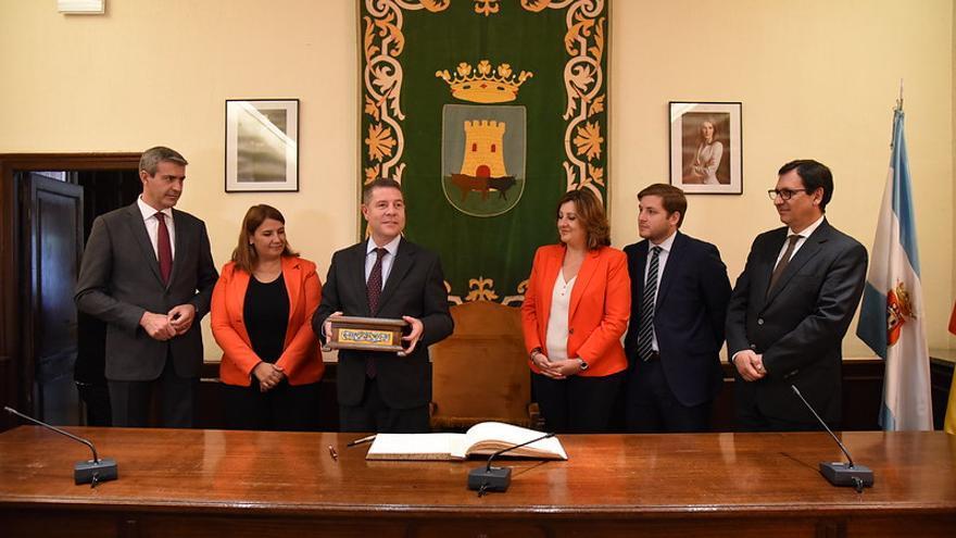 Emiliano García-Page ha visitado hoy Talavera de la Reina