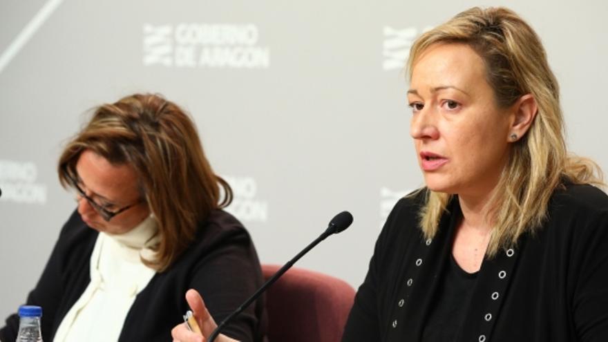 Marta Gastón, consejera de Economía del Gobierno de Aragón