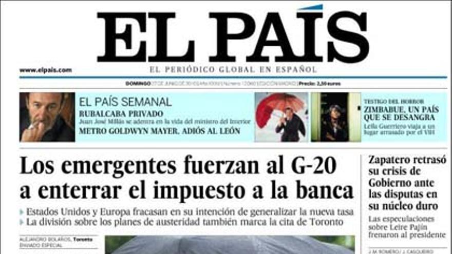 De las portadas del día (27/06/2010) #7