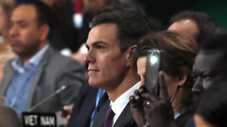 Sánchez evita hacer declaraciones sobre los resultados electorales en Andalucía