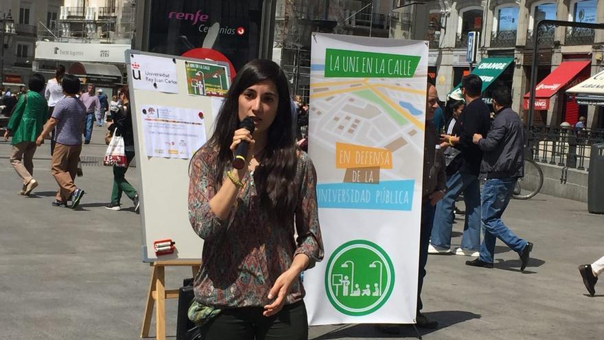 Andrea Portal expone su TFM sobre los anfibios en Sol