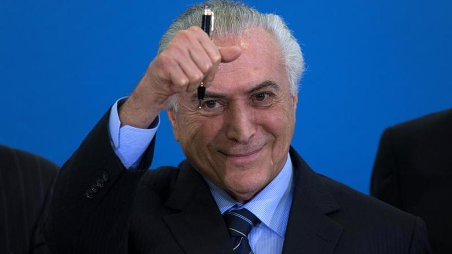 Solo un 5 % de los brasileños aprueba el Gobierno de Temer, dice una encuesta