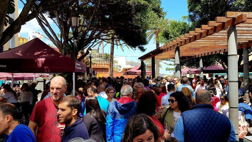 Imagen de la Feria del Vino de Santa Cruz de La Palma.