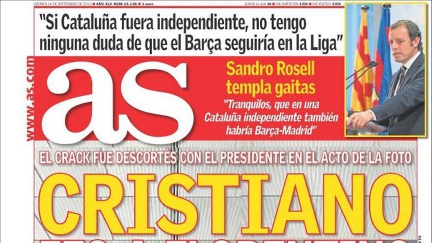 De las portadas del día (14/09/2012) #12