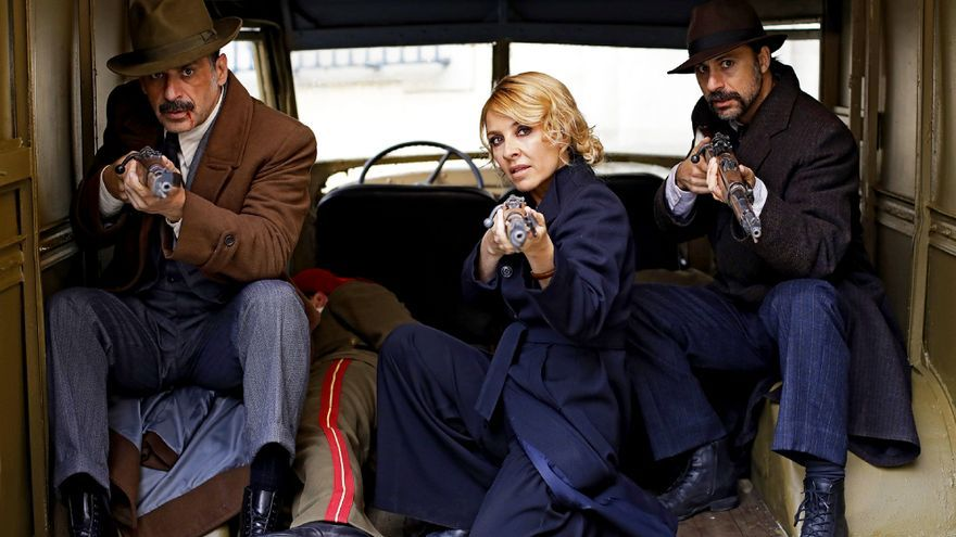 El Ministerio del Tiempo lanza nuevas imágenes de la reunión de la patrulla en su cuarta temporada