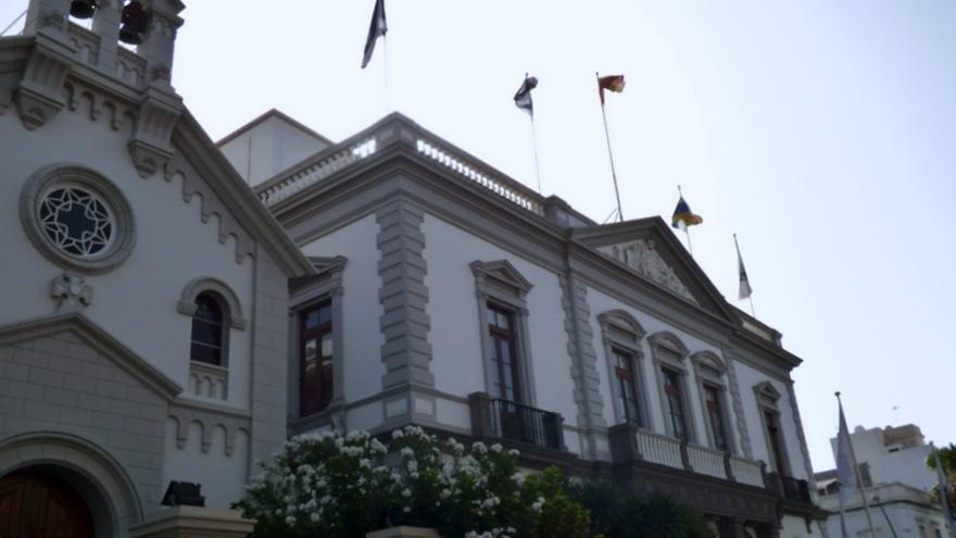 Fachada del Ayuntamiento de Santa Cruz de Tenerife