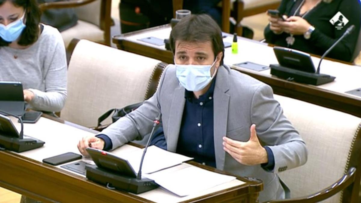 El diputado por Murcia de Unidas Podemos Javier Sánchez Serna