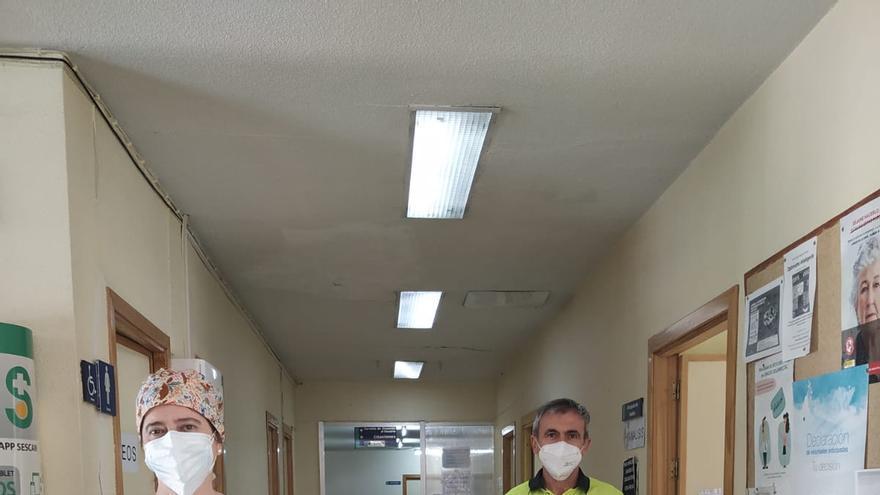 Así se vive la pandemia en Atención Primaria: sin cerrar, con un 30% menos de plantilla y 12 bajas con COVID
