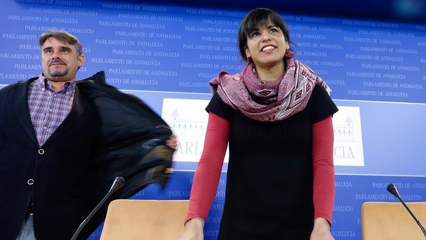 """Teresa Rodríguez (Podemos) exige al Gobierno """"el fin inmediato"""" del peaje de la AP-4"""