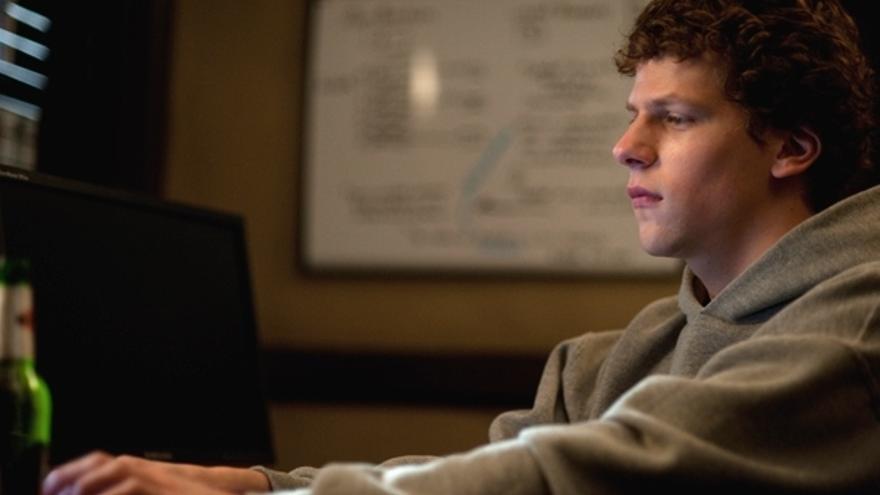 Jesse Eisenberg, actor que interpreta a Mark Zuckerberg en La Red Social