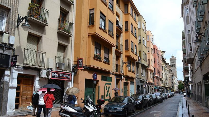 Al culminar a implantación del Plan de Movilidad, solo los residentes podrán circular por las calles del centro de Zaragoza.