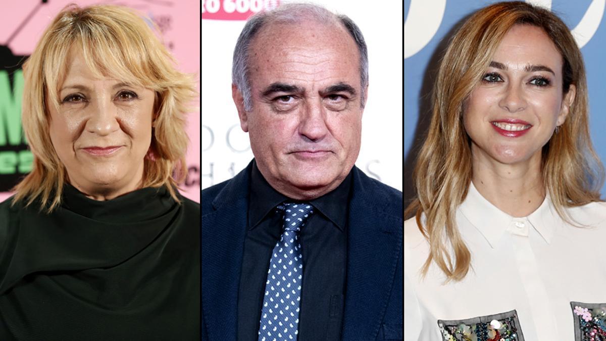 Blanca Portillo, Francesc Orella y Marta Hazas