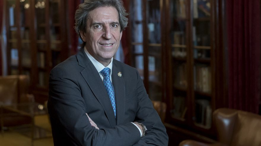 El presidente del Colegio de Médicos de Madrid, Miguel Ángel Sánchez Chillón, en una imagen de archivo.