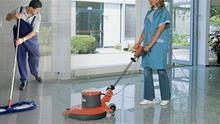 Trabajadores de la limpieza.