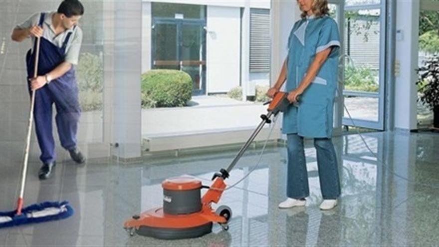 Trabajadoras limpieza