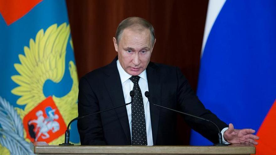 Putin promulga las leyes sobre la Guardia Nacional de Rusia