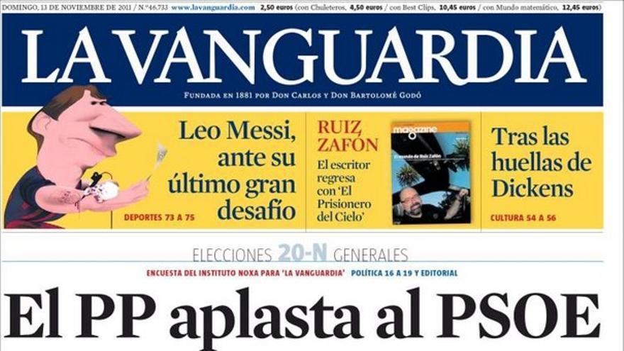 De las portadas del día (13/11/2011) #11