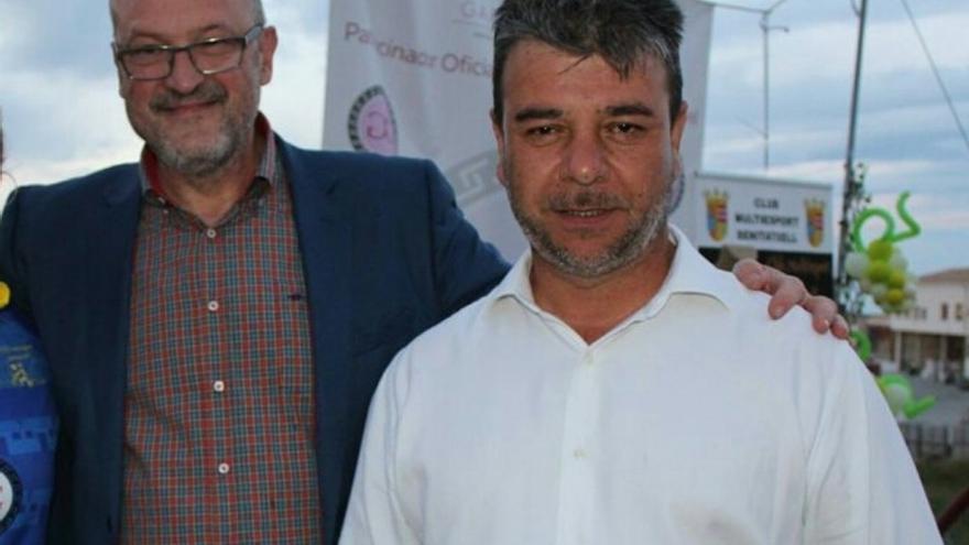 El alcalde Josep Femenia (RED) y el edil Toni Colomer, en una imagen de archivo.