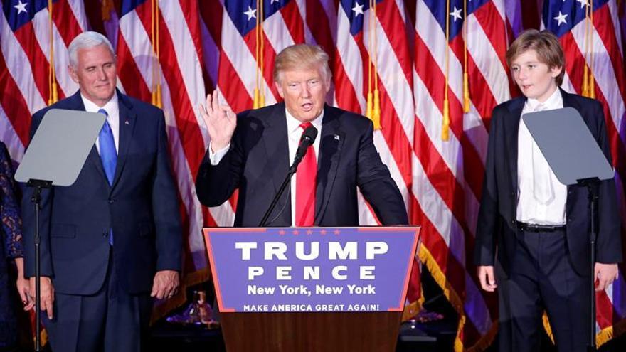Trump actualiza su cuenta de Twitter y se presenta como el presidente electo