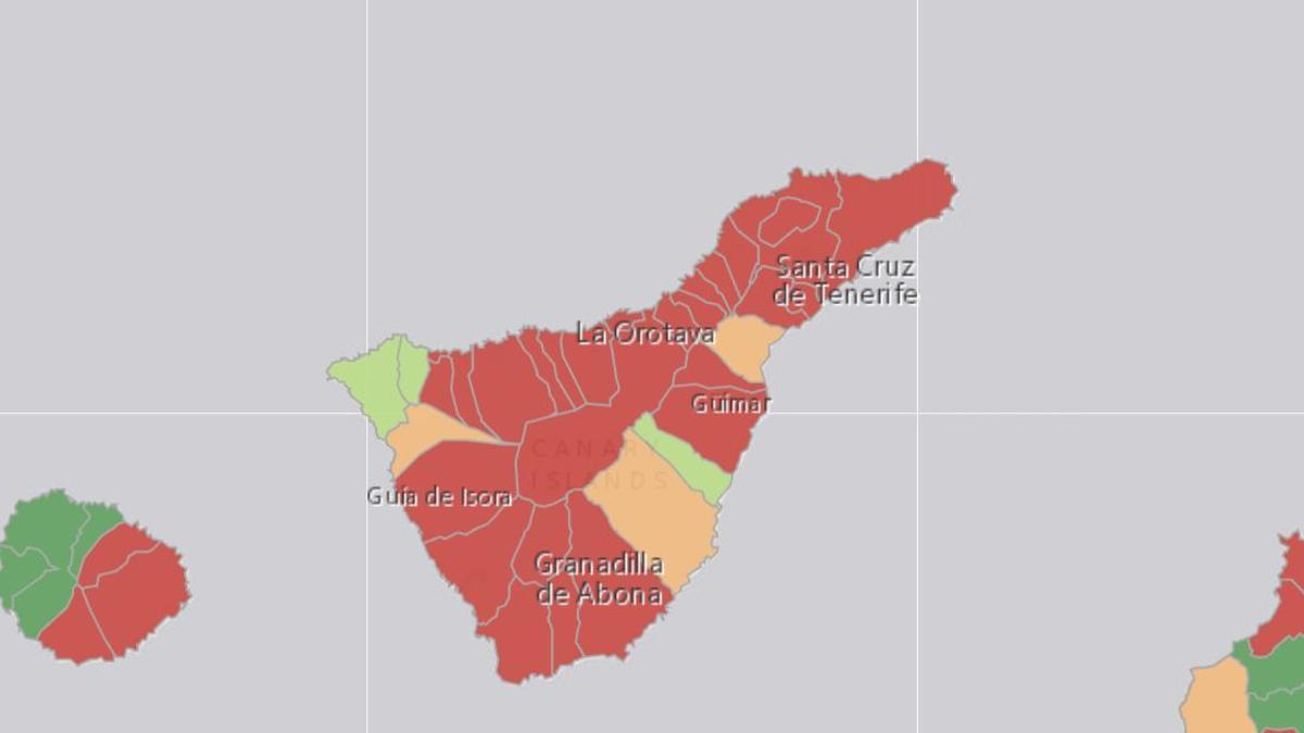 Casi todos los municipios de la isla han reportado casos de COVID-19 en los últimos siete días