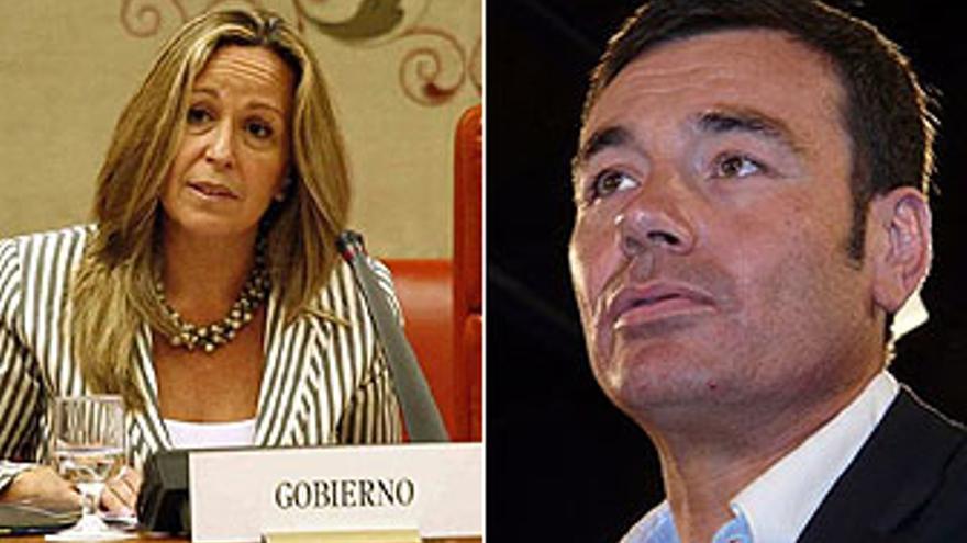 Trinidad Jiménez y Tomás Gómez aspirar a la candidatura del PSM a la presidencia de la Comunidad de Madrid.