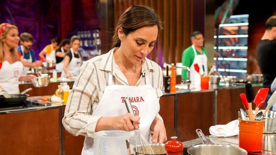 Tamara Falcó, en el primer programa de 'MasterChef Celebrity 4'
