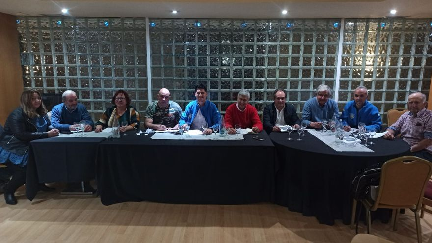 Reunión de la Federación Nacional de Agricultores Independientes.
