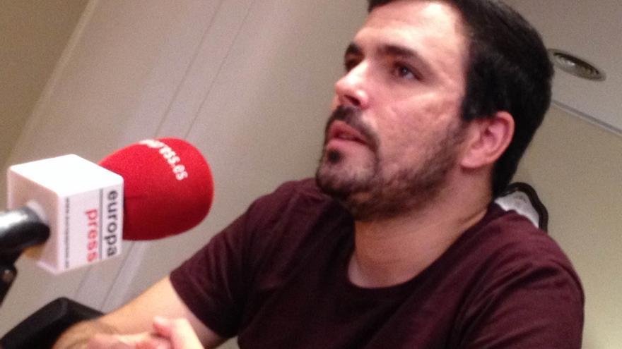 Alberto Garzón, ingresado desde el lunes por una infección vírica