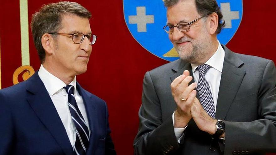 """Feijóo dice no estar pensando en quién """"puede sustituir a Rajoy"""""""