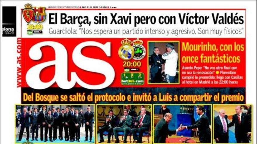 De las portadas del día (23/10/2010) #13