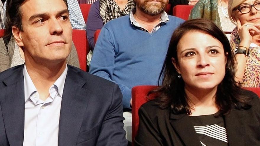 """La cabeza de lista del PSOE por Asturias Adriana Lastra, a los suyos: """"Ya basta de fustigarse, que somos el PSOE"""""""