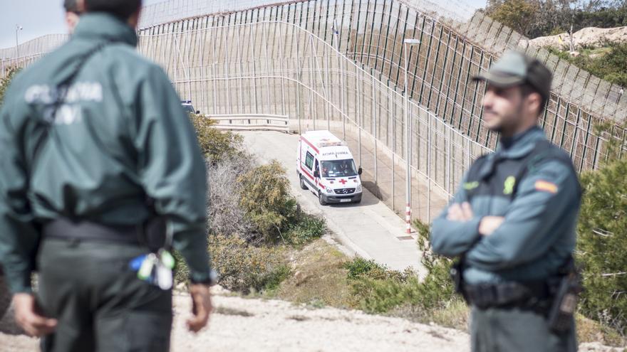 A la Cruz Roja no se le permitió asistir a los inmigrantes heridos/ Blasco de Avellaneda