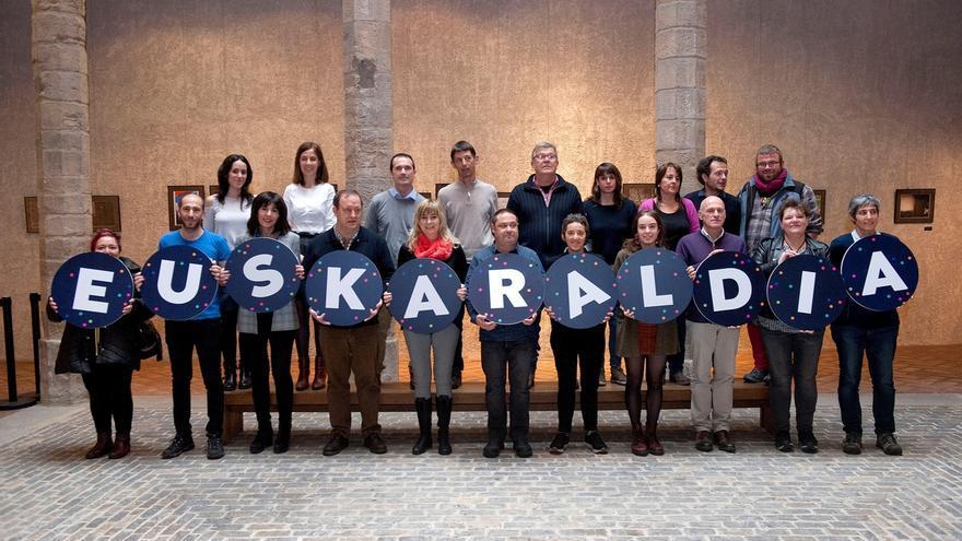 El Ejecutivo navarro participado en la iniciativa 'Euskaraldia, 11 días en euskera'