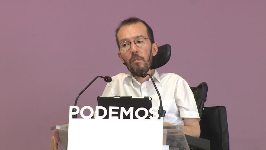 Echenique ve normal que Iglesias tenga sus preferencias en Madrid porque también votará en este proceso