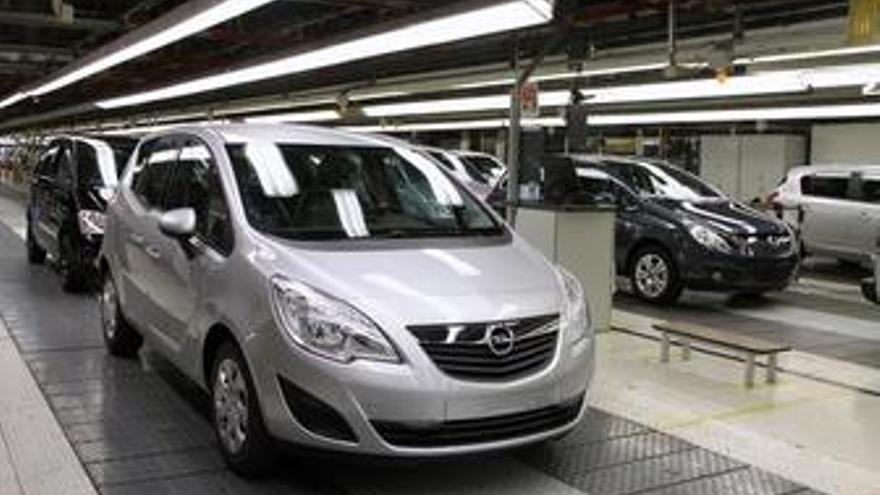 Opel Meriva En La Planta De Figueruelas