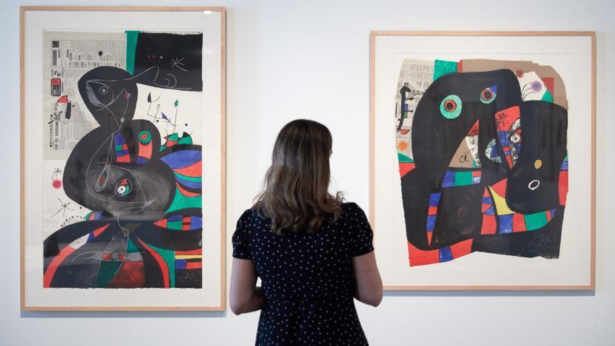 """Miró y Gaudí, protagonistas de la exposición """"más importante"""" de Vila Casas"""